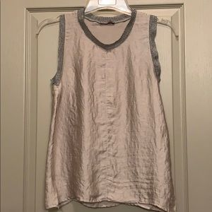 Zara Shiny Sleeveless Tank